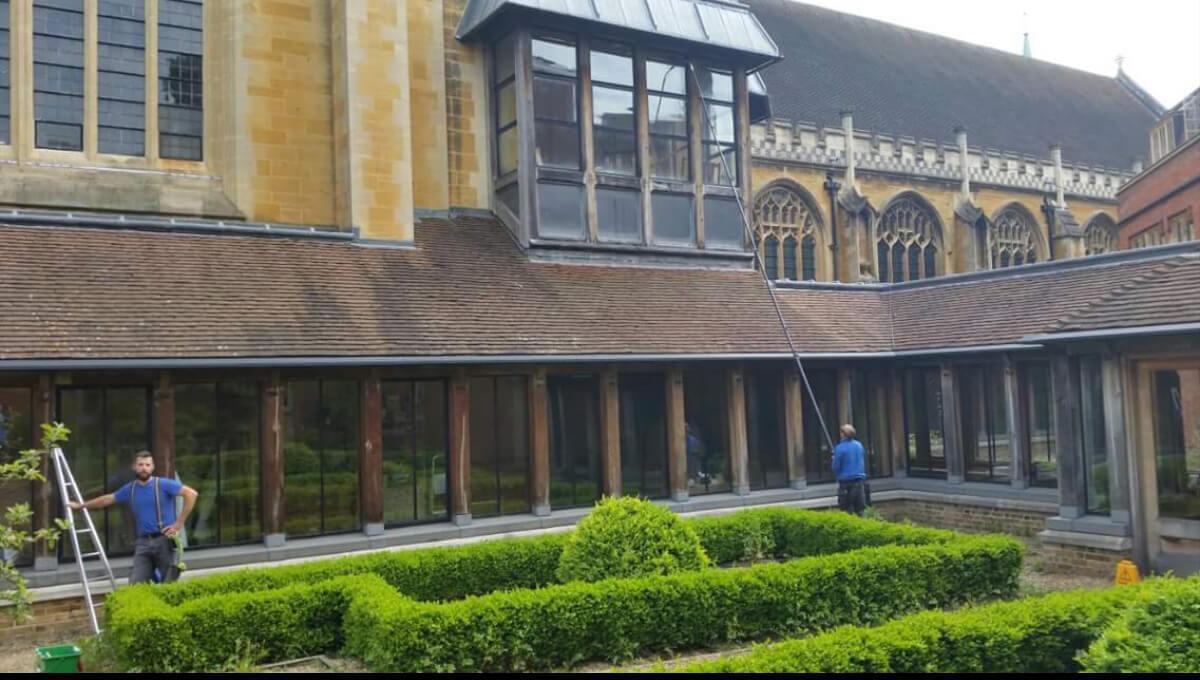 Čistenie Historickej Budovy